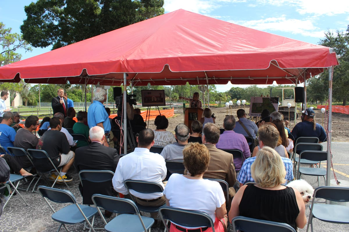 Rio Vista Park Groundbreaking Ceremony