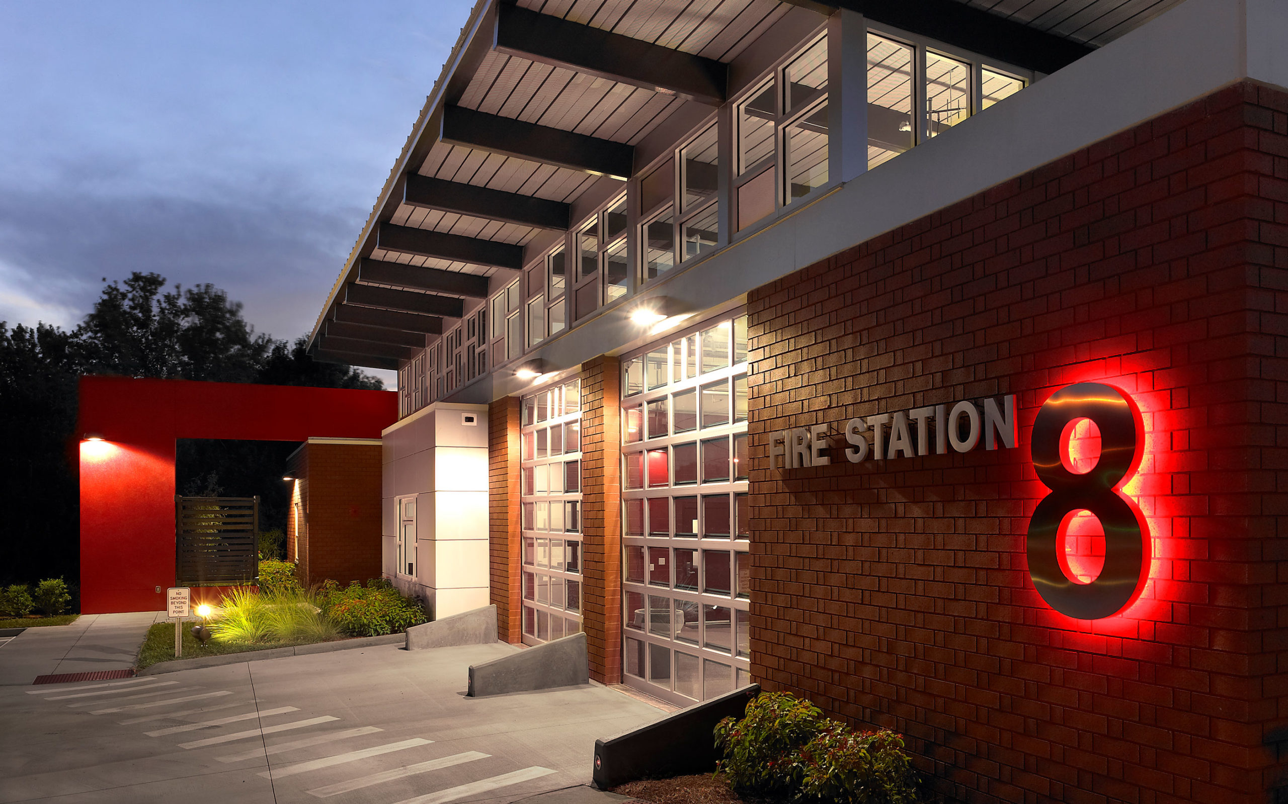 Lake Maggiore Fire Station #8 voted Best Looking Firehouse by Creative Loafing Tampa Bay