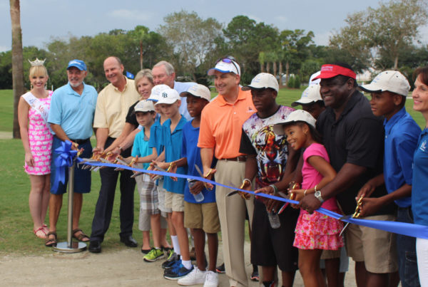 Twin Brooks Golf Ribbon Cutting