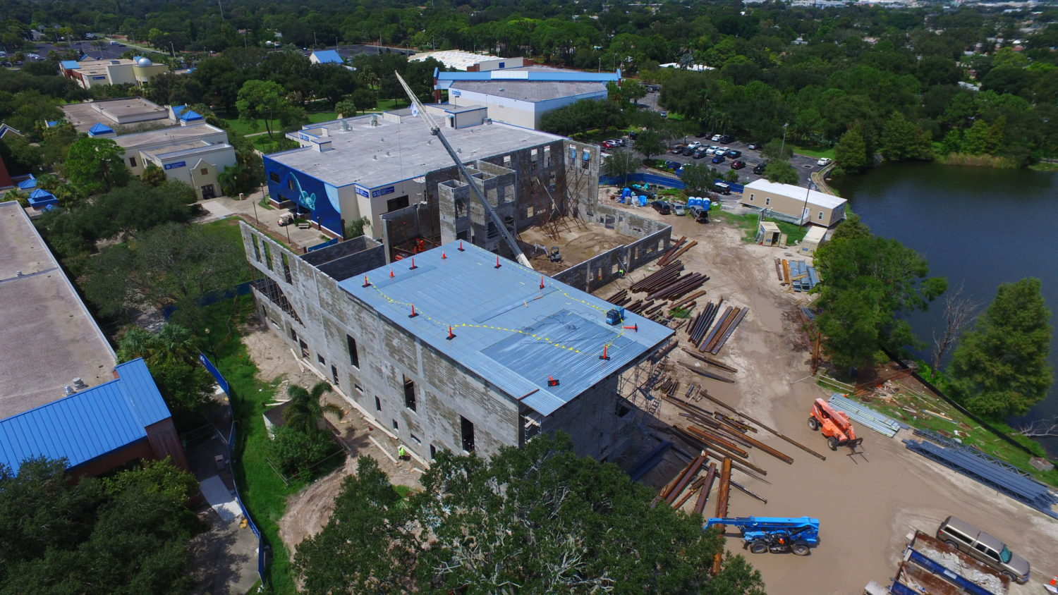 Progress Continues at St. Petersburg College/Gibbs Campus