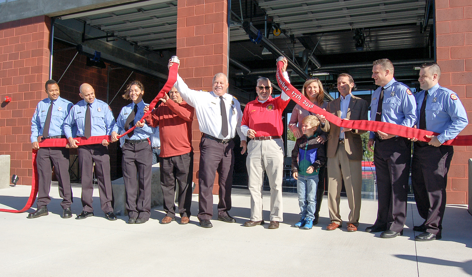 Final Ribbon Cutting