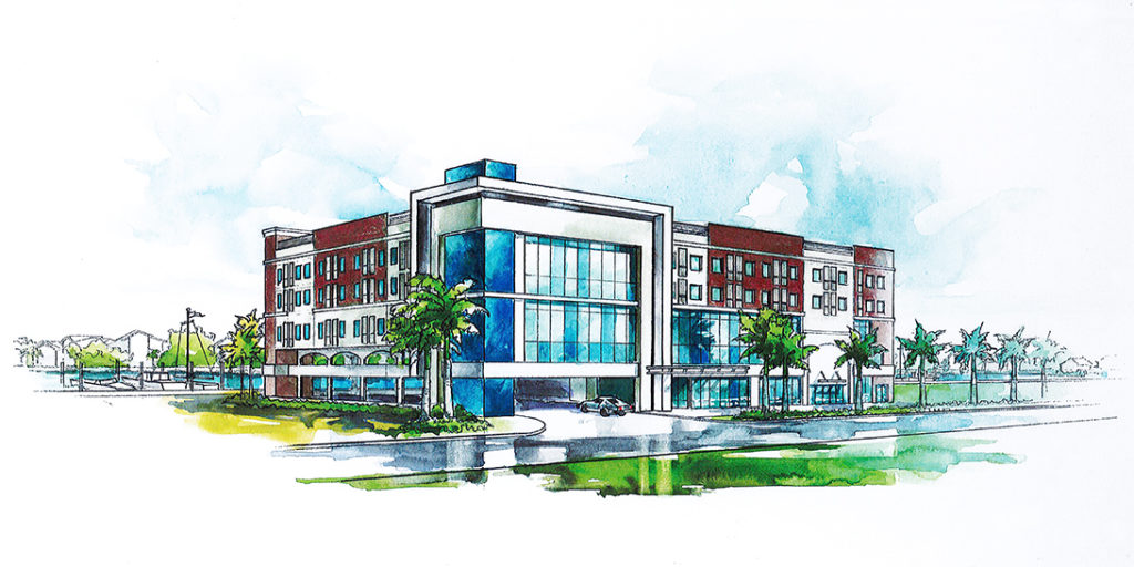 Madeira Beach Cambria Hotel Rendering 1