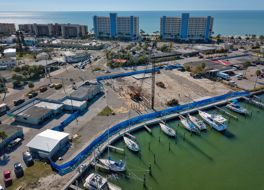 Madeira Beach Beginning Construction