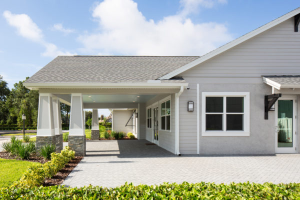 Summerfield Clubhouse Front Porch