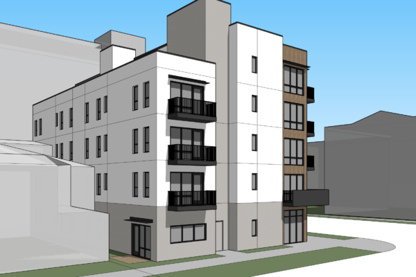 357 Apartments Rendering 4th Ave.