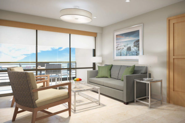Oceanview Small Living Room